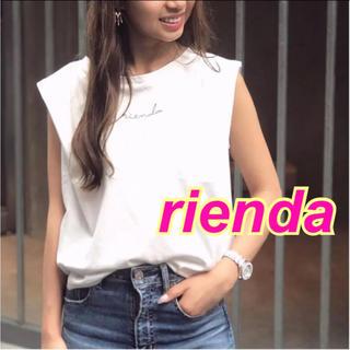 rienda - rienda★タックショルダーロゴT★Rady*リゼクシー*エイミーイストワール