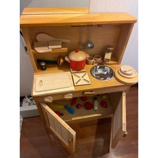 木製 キッチン おままごと