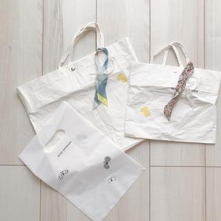 ミナペルホネン(mina perhonen)のミナペルホネン ショッパー ハギレと紐つき(ショップ袋)