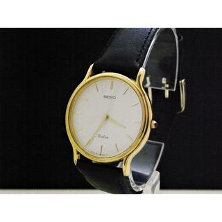 セイコー(SEIKO)のSEIKO Dolce 腕時計 ラウンドフェイス ゴールド (腕時計(アナログ))