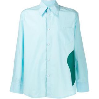 ラフシモンズ(RAF SIMONS)のNAMACHEKO コントラストパネルシャツ(シャツ)