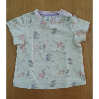 ジェラートピケ(gelato pique)のジェラートピケ Tシャツ 90 動物(Tシャツ/カットソー)