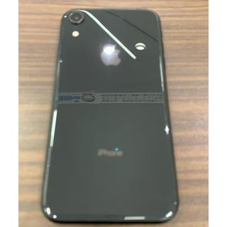 iPhone - 【中古美品】iPhoneXR 128GB  ブラック 本体のみ SIMフリー