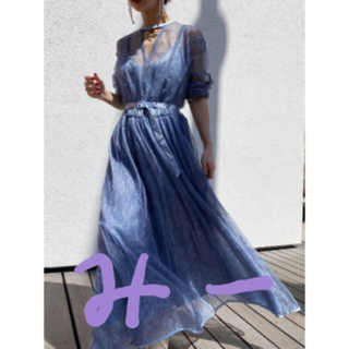 Ameri VINTAGE - Ameri 新品タグ付 LADY LACE PLEATS DRESS