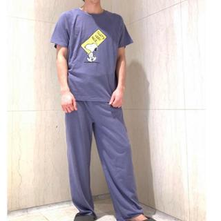 ジェラートピケ(gelato pique)の【PEANUTS】HOMMEワンポイントTシャツ&カットオフロングパンツ(Tシャツ/カットソー(半袖/袖なし))