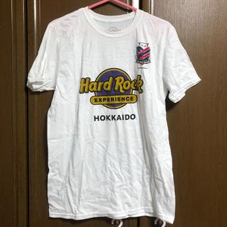 Hard Rock カフェ 北海道 記念 Tシャツ 非売品(ノベルティグッズ)