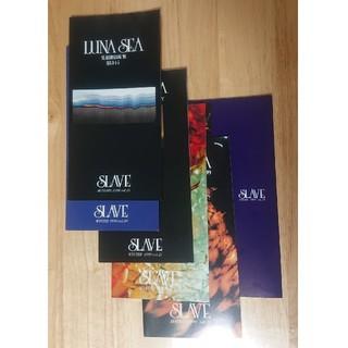 """LUNA SEA ファンクラブ""""SLAVE"""" 会報 19号〜24号 98〜99年(ミュージシャン)"""