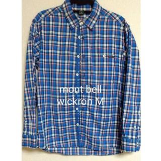 モンベル(mont bell)のWIC.ライト シングルポケット ロングスリーブシャツ ウルトラマリン(シャツ)
