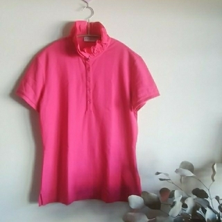 MONCLER - MONCLER♡Sポロシャツピンク