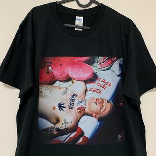 LIL PEEP Tシャツ 黒