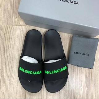 バレンシアガ(Balenciaga)の【新品未使用】バレンシアガ プールロゴサンダル(サンダル)