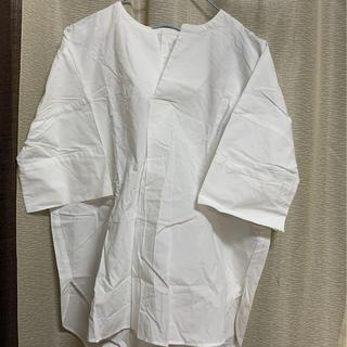 レプシィム(LEPSIM)のレプシム スキッパーチュニック ブラウス(シャツ/ブラウス(半袖/袖なし))