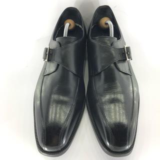ホーキンス(HAWKINS)の☆Hawkins Premiam ☆26cm/シングルモンクストラップ/革靴/黒(ドレス/ビジネス)
