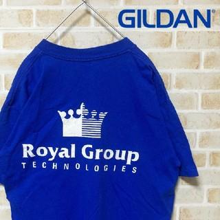 ギルタン(GILDAN)の【企業物】カナダ製 古着屋購入 GILDAN 半袖 Tシャツ サイズL 相当(Tシャツ/カットソー(半袖/袖なし))