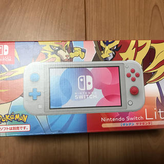 Nintendo Switch - 美品 Nintendo Switch Lite ザシアン・ザマゼンタ ライト
