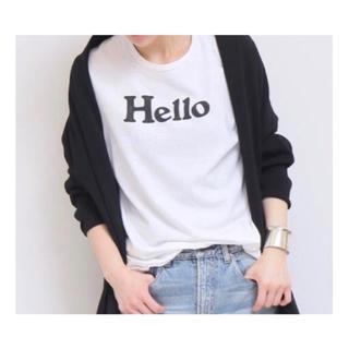 MADISONBLUE - 値下げ MADISONBLUE Hello Tシャツ