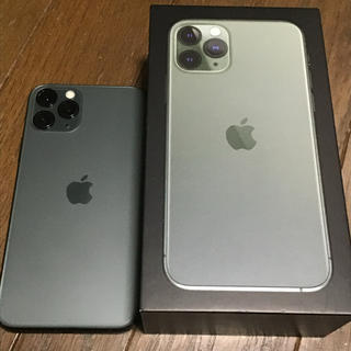 Apple - 【simフリー】iphone 11 pro 256gb 【純正ケース付き】