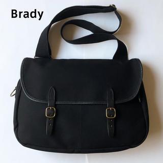 Brady ショルダーバッグ ブラック 黒 ブレディ フィッシングバッグ