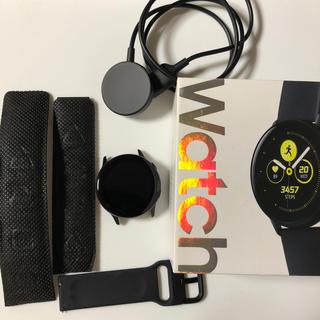 ギャラクシー(Galaxy)のGALAXYWatchActiveスマートウォッチ(腕時計(デジタル))
