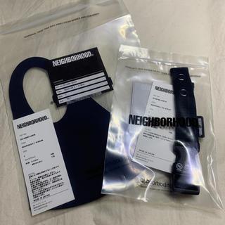 NEIGHBORHOOD - NEIGHBORHOOD ネイバーフッド マスク マスクストラップ 青 セット