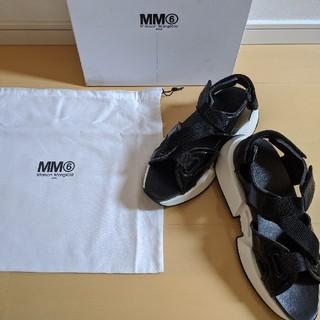 エムエムシックス(MM6)の新品・正規品!MM6 MAISON MARGIELA ストラップサンダル(サンダル)