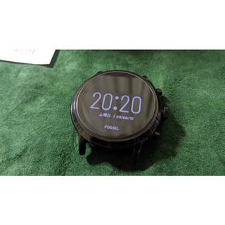 フォッシル(FOSSIL)の【中古】 FOSSIL スマートウォッチ FTW4025 GEN5 黒(腕時計(デジタル))