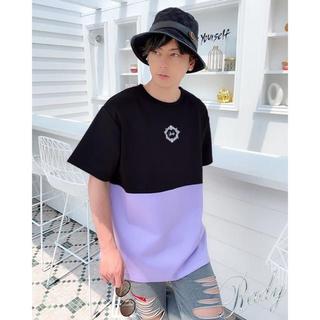 レディー(Rady)のバイカラーフレームRadyメンズTシャツ(Tシャツ/カットソー(半袖/袖なし))