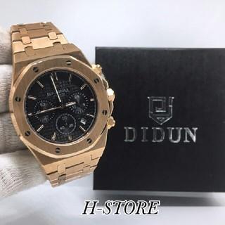 ハリーウィンストン(HARRY WINSTON)の新品未使用✨DIDUN DESIGN メンズ 自動機械式 ブロンズ 高級 腕時計(腕時計(アナログ))