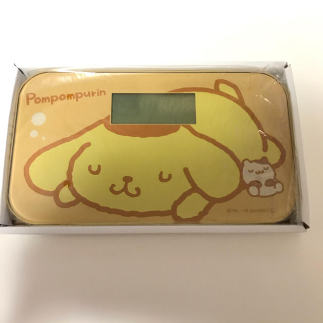 ポムポムプリン 体重計 スマホ/家電/カメラの生活家電(体重計)の商品写真