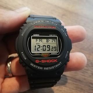 ジーショック(G-SHOCK)の超美品 CASIO G-SHOCK 腕時計 ブラック(腕時計(デジタル))