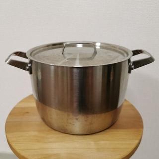 ムジルシリョウヒン(MUJI (無印良品))の無印良品  ステンレス  鍋(鍋/フライパン)