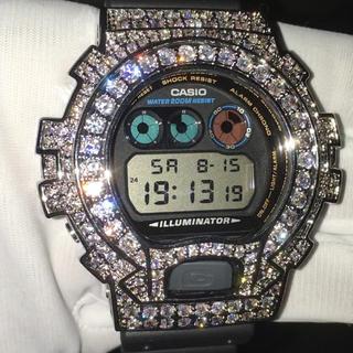 ジーショック(G-SHOCK)の■超豪華■13.5ct VVSダイヤ(cz) G-Shock 18KGP WG(腕時計(デジタル))