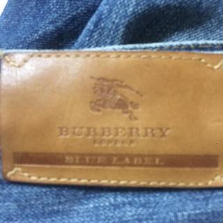 バーバリー(BURBERRY)の稀少激レアバーバリーブルーレーベルハーフデニムパンツ(デニム/ジーンズ)