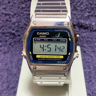 カシオ(CASIO)の★ CASIO WS-70 145 ヨット 舟 ステンレス ビンテージ 希少 ★(腕時計(デジタル))