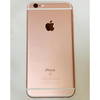 iPhone - iPhone 6s SIMフリー 64GB ローズゴールド