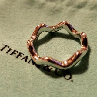 Tiffany & Co. - ティファニー ウェーブリング silver925  波形