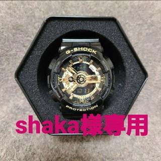 ジーショック(G-SHOCK)のG-SHOCK GA-110GB-1AJF(腕時計(デジタル))