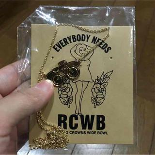 ロデオクラウンズワイドボウル(RODEO CROWNS WIDE BOWL)のRCWB★新品ネックレス(ネックレス)