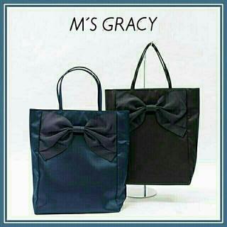 M'S GRACY - 【新品】エムズグレイシー トートバッグ BK