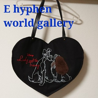 E hyphen world gallery - ディズニー わんわん物語 バッグ E hyphen world gallery