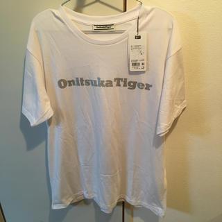 オニツカタイガー(Onitsuka Tiger)のOnitsuka Tiger 白ティーXL 2020年(Tシャツ/カットソー(半袖/袖なし))