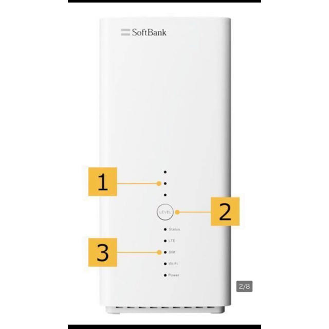 Softbank(ソフトバンク)のソフトバンクエアー スマホ/家電/カメラのPC/タブレット(タブレット)の商品写真