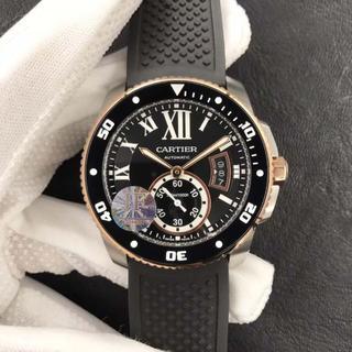 即購入OK!!!カルティエ Cartier カリブル メンズ 腕時計 自動巻