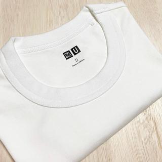 UNIQLO - ユニクロ Tシャツ 無地 ホワイト 新品未使用