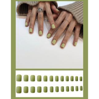 可愛いネイルチップ24枚(つけ爪/ネイルチップ)