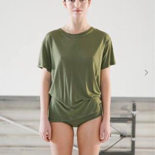エディットフォールル(EDIT.FOR LULU)のBASERANGE ベースレンジ  バンブーTシャツ S(Tシャツ(半袖/袖なし))