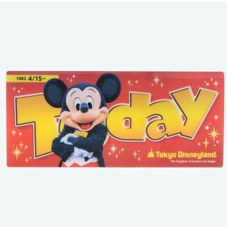 Disney - ケース チケット TODAY ディズニー