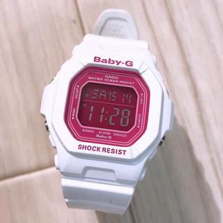 Baby-G - CASIO Baby-G BG-5601 白 ピンク