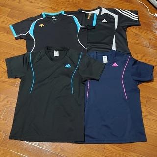 adidas - Tシャツ アディダス 3枚 デサント 1枚 サイズM