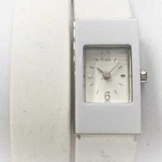 ジルスチュアート(JILLSTUART)のジルスチュアート 腕時計 レディース 白(腕時計)